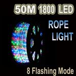 50m LED Rope Light MULTI