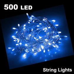 55m 500 LED String Light BLUE