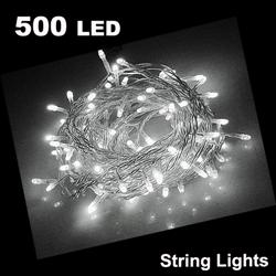 55m 500 LED String Light COOL WHITE