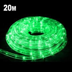 20m LED Rope Light GREEN