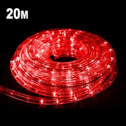 20m LED Rope Light RED