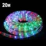 20m LED Rope Light Multicolored