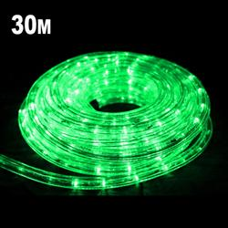 30m LED Rope Light GREEN
