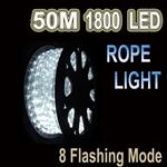 50m LED Rope Light Cool White