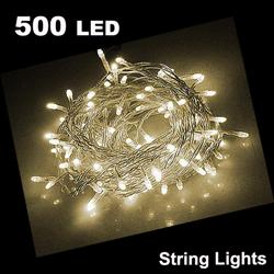 55m 500 LED String Light WARM WHITE