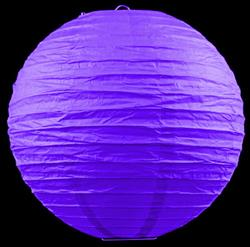 "12 x 8 ""/ 20cm paper lanterns purple"