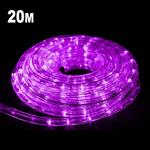 20m LED Rope Light Purple