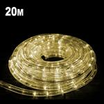 20m LED Rope Light Warm White