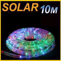 Solar 10m pvc tube rope light multi colored lsr10m solar led 10m pvc tube rope light multi colored aloadofball Choice Image