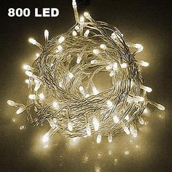 85m 800 LED String Light Warm White